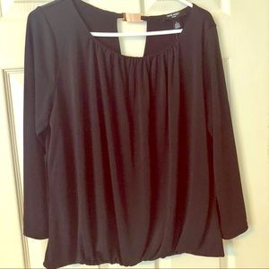Nine West black blouse